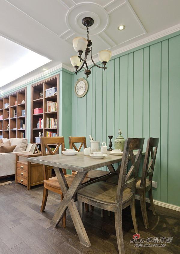 混搭 三居 餐厅图片来自用户1907691673在精品简欧实景150平米大三居97的分享