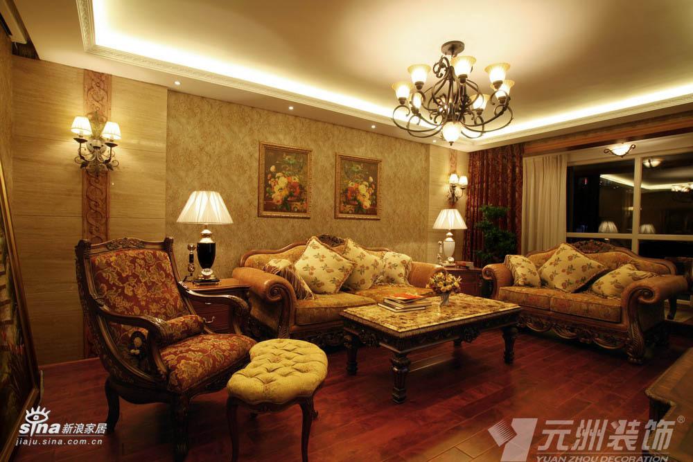 欧式 三居 客厅图片来自用户2746953981在典雅欧式98的分享