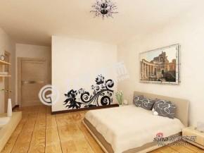 现代 四居 卧室 文艺青年图片来自阳光力天装饰在我的专辑335288的分享