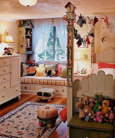 温馨可爱的卧室,想装修的朋友,可以借鉴下了,个人觉得偏女生的喜好。