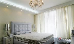 现代 三居 卧室 公主房图片来自装修微日记在【高清】138平极简摩登时尚3居室47的分享