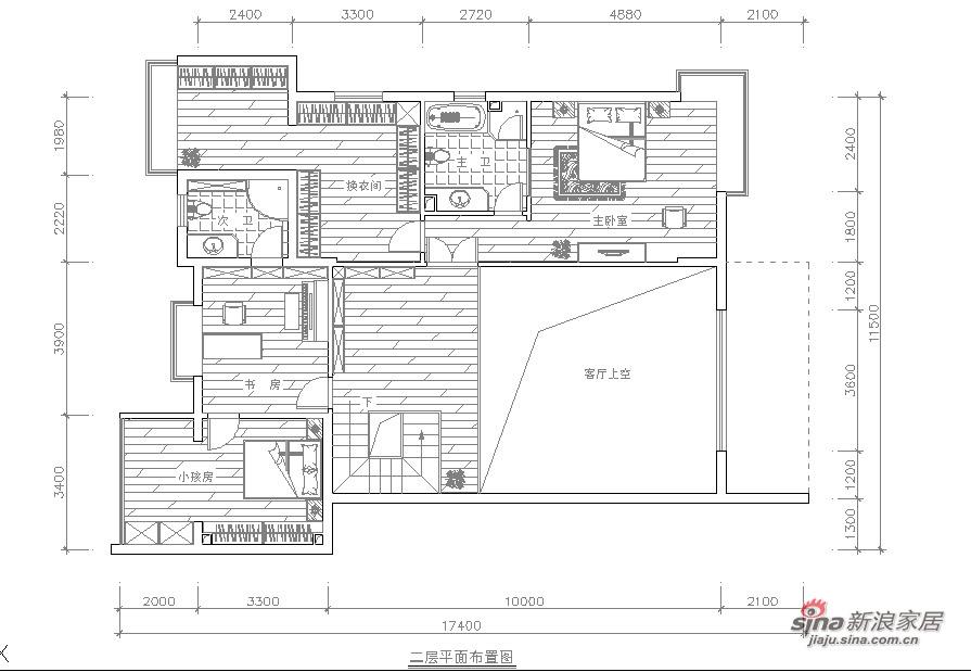 欧式 别墅 客厅图片来自用户2757317061在30万硬装别墅华而不奢的品质81的分享