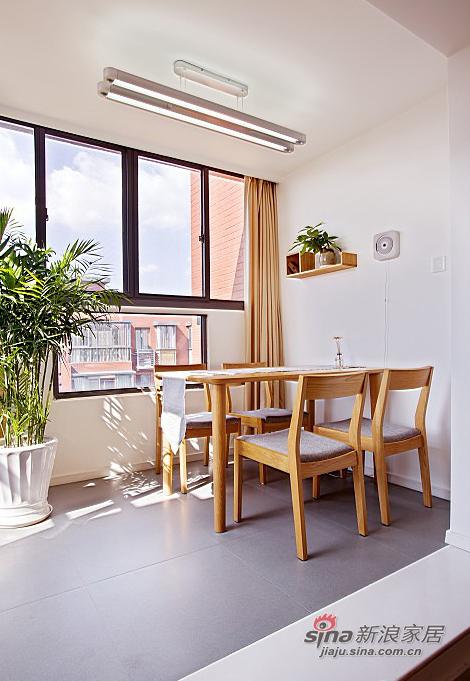 简约 loft 餐厅图片来自用户2737950087在【高清】超清爽70平日式素雅loft16的分享