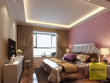 北京城建·世华泊郡122平美式乡村装修案例31