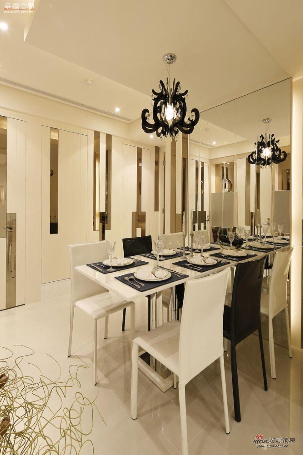 新古典 四居 餐厅图片来自幸福空间在148平三十年代欧式古典风格95的分享