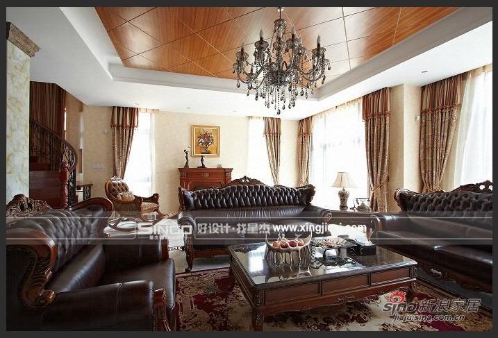 欧式 别墅 客厅图片来自用户2772856065在简欧混搭风29的分享