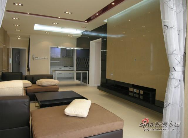 简约 四居 客厅图片来自用户2739153147在奥林匹克花园140平米12的分享