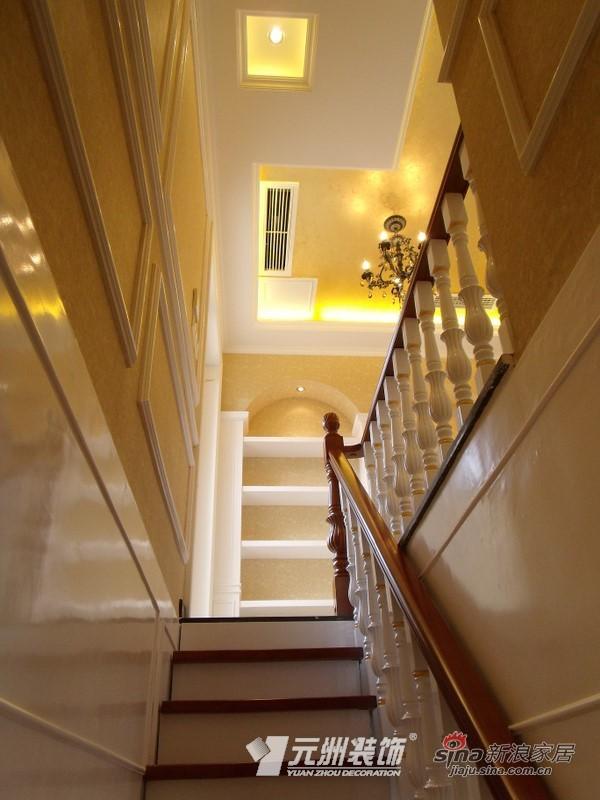 欧式 三居 楼梯图片来自用户2746948411在【多图】144平欧美风情29的分享