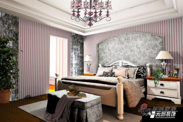 350平米领秀新硅谷现代风格四居卧室