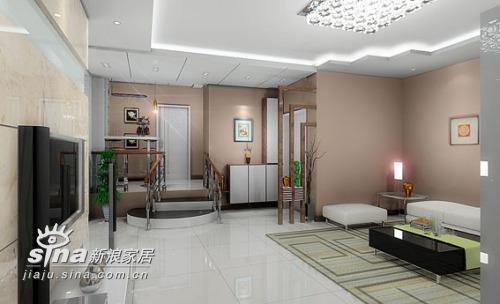 简约 三居 客厅图片来自用户2737759857在一套现代风格88的分享