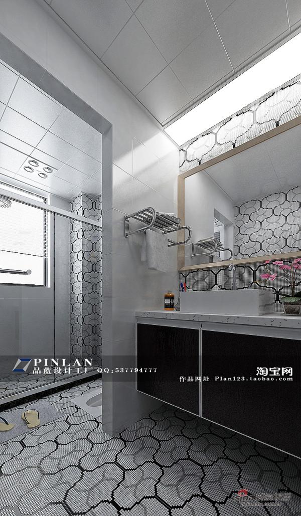 卫生间设计 黑白卫生间设计