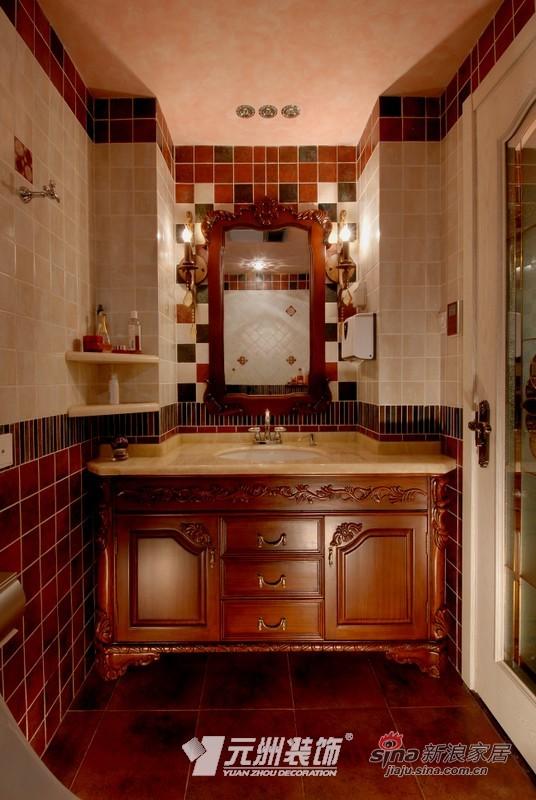 混搭 别墅 卫生间图片来自用户1907655435在【多图】混搭风情别致美41的分享