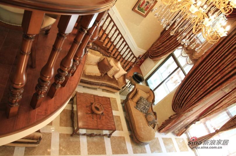 欧式 别墅 楼梯图片来自用户2745758987在【高清】欧式别墅大宅 高品质生活61的分享