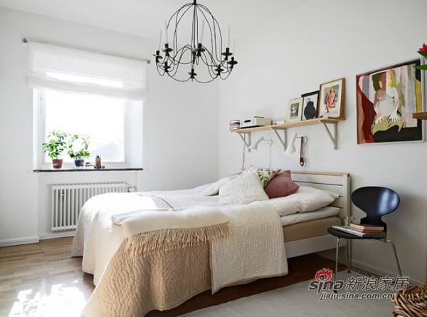 简约 二居 卧室图片来自用户2745807237在森林风 62平米干净舒适的优雅单身公寓30的分享