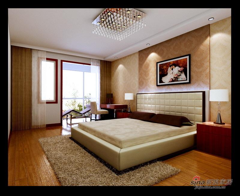 简约 三居 卧室图片来自用户2738845145在新古典主义四口之家14的分享