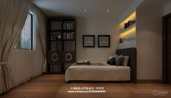 简约风格家庭装修设计-卧室设计效果图