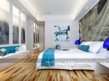 《蔚蓝海岸》--124平米样板房49