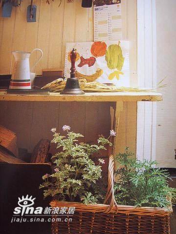采用鲜花或仿真花做装饰,会让你的居室看起来充满了生气