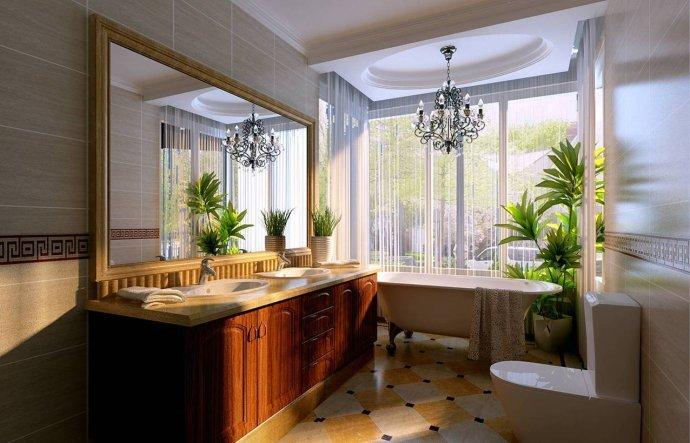欧式 三居 卫生间图片来自用户2772873991在129平奢华欧式三居28的分享