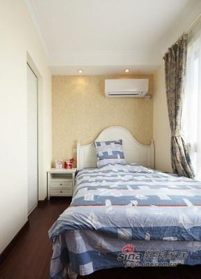 现代 三居 卧室 公主房图片来自装修微日记在【高清】8万营造110平现代苏格兰空间50的分享