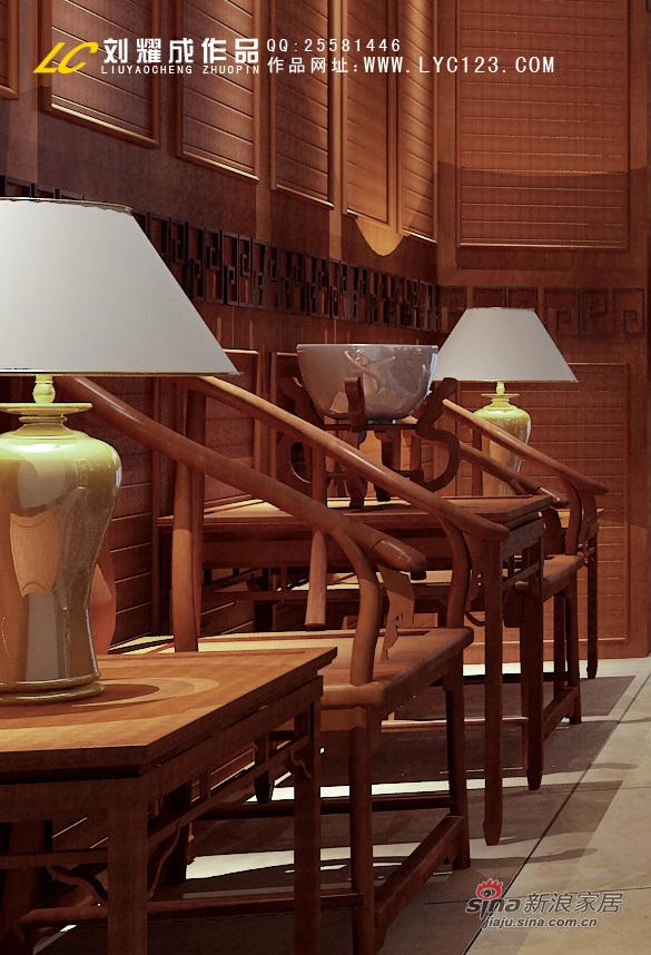美式 别墅 书房图片来自用户1907685403在豪华庄重别墅案例66的分享