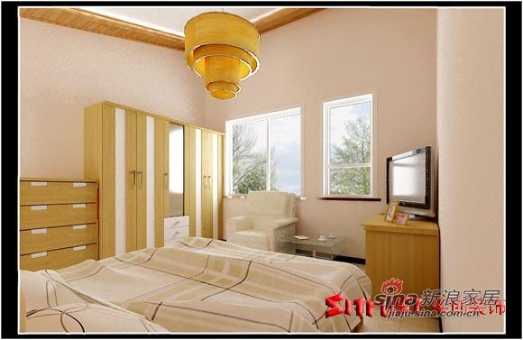 简约 三居 卧室图片来自用户2745807237在简洁、温馨的三居室85的分享