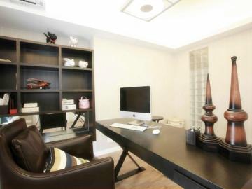 【高清】6万打造124平现代简洁三居室52