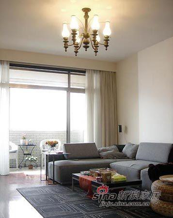 简约 三居 客厅图片来自用户2737735823在6万装117平极致美丽简约家74的分享