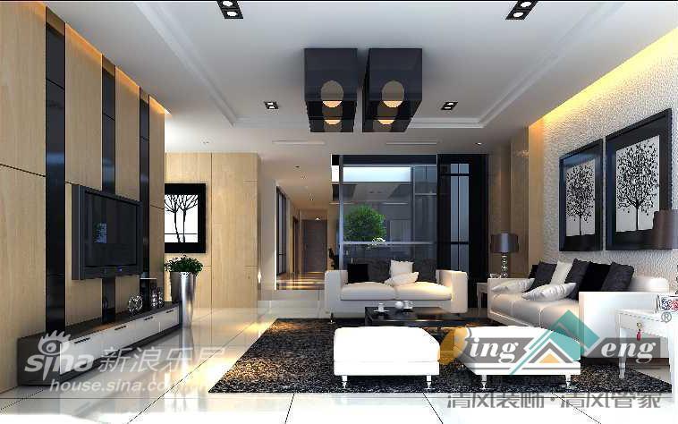 其他 别墅 客厅图片来自用户2737948467在苏州清风装饰设计师案例赏析1546的分享