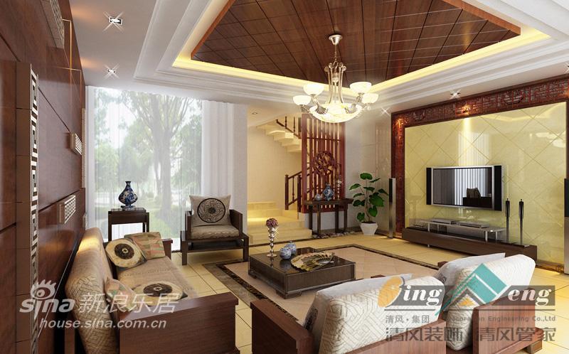 其他 别墅 客厅图片来自用户2558757937在苏州清风装饰设计师案例赏析1839的分享