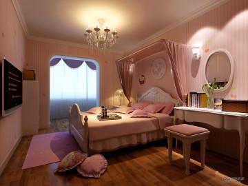粉色空间80后婚房 简洁之美78