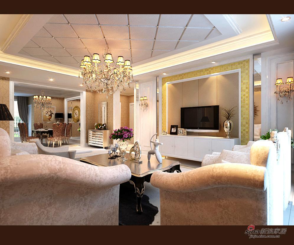 其他 三居 客厅图片来自用户2558746857在新奢华三居室23的分享