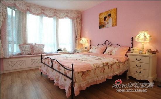 田园 其他 卧室 公主房 白领 唯美 温馨 背景墙图片来自用户2557006183在7.6万梦幻田园温馨婚房3居70的分享