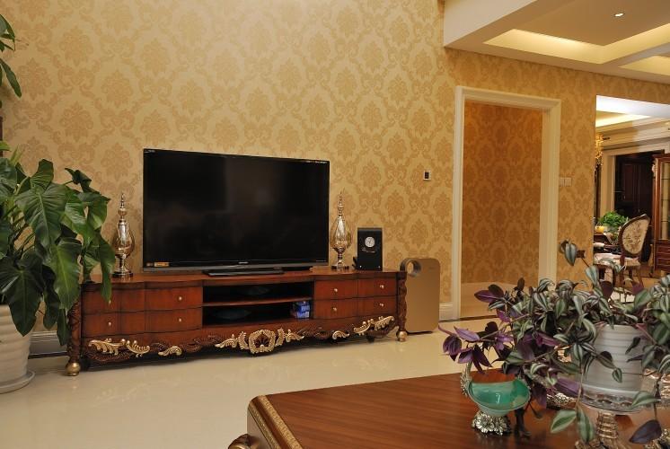 田园 别墅 客厅图片来自用户2737946093在【高清】惊艳360平现代欧式别墅82的分享
