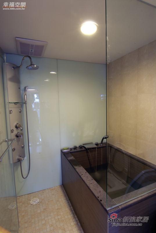 简约 复式 卫生间图片来自幸福空间在积极规划60平米舒宜居复式家84的分享
