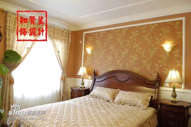 简约 三居 卧室图片来自用户2738093703在知贤装饰五81的分享