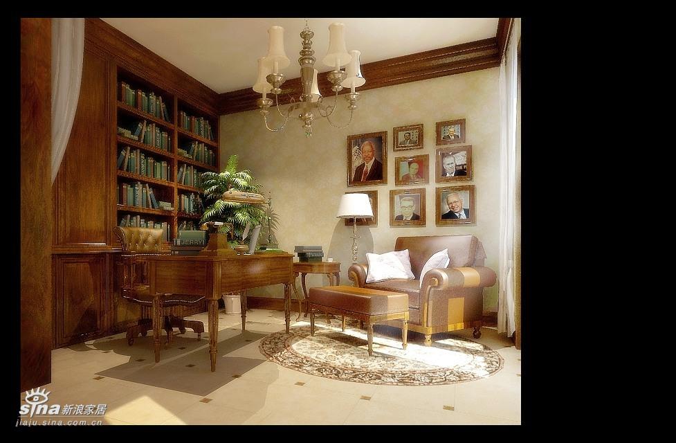 欧式 复式 书房图片来自用户2746948411在欧式风情25的分享
