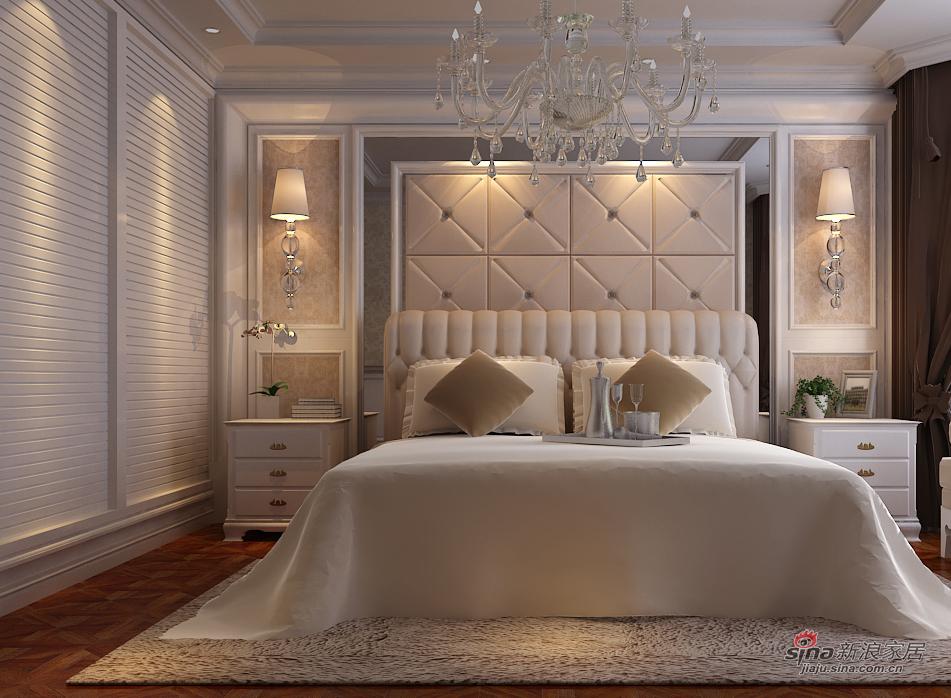 欧式 三居 卧室图片来自用户2772873991在夫妻的130平温馨小资婚房88的分享