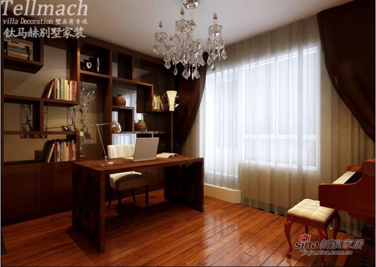 中式 别墅 书房图片来自用户1907659705在【多图】海派设计师韩文睿演绎简中风情别墅19的分享