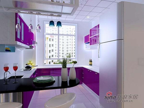 简约 二居 厨房图片来自用户2737735823在亮丽明快的现代两居80的分享