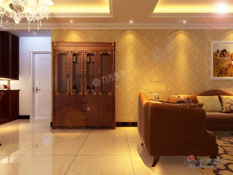 欧式 三居 玄关图片来自用户2772873991在欧美小镇117平米-三室两厅-简欧风格48的分享