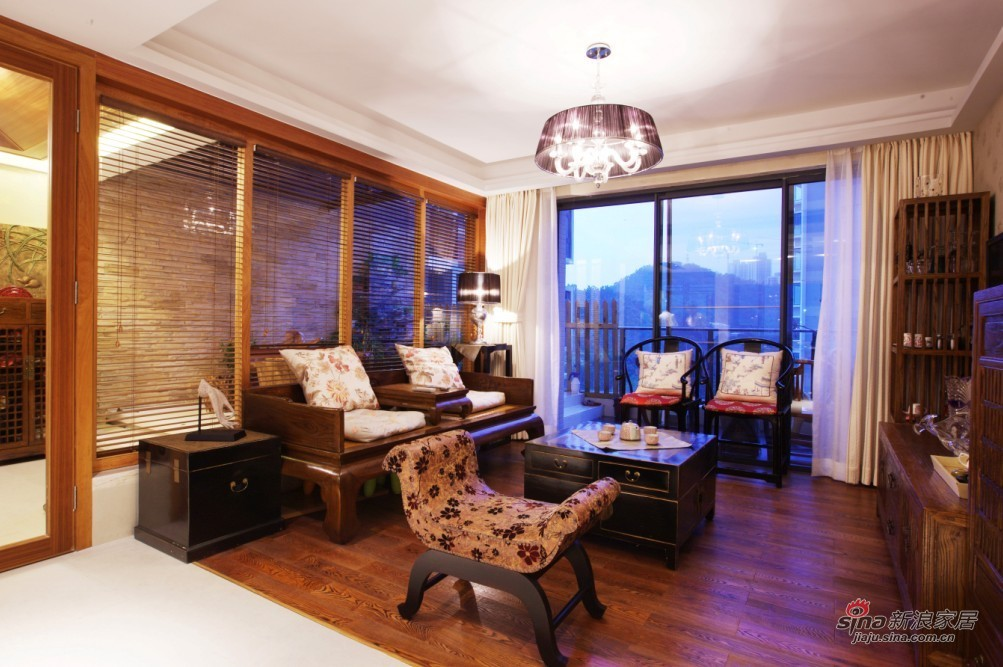 中式 三居 客厅图片来自用户2757926655在《情趣生活》29的分享