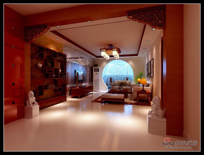 简约 一居 客厅图片来自用户2738845145在9万打造130平现代中式三居室98的分享