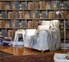 书房超大的整面墙书架