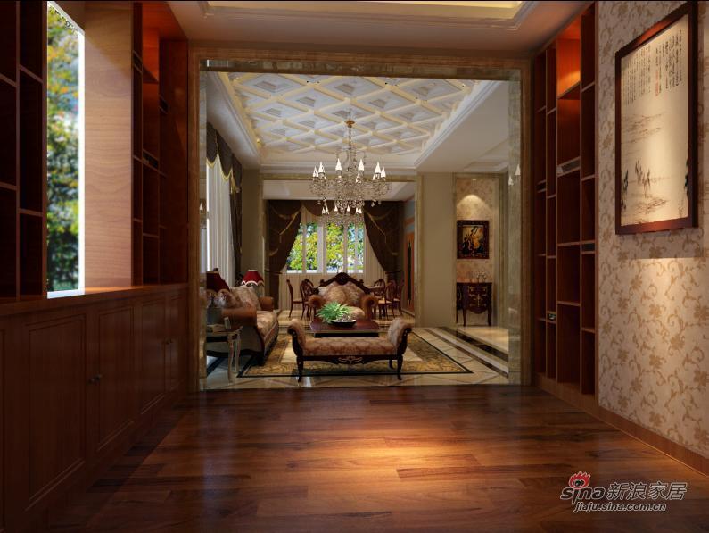 中式 别墅 客厅图片来自用户1907659705在中式古典配饰实景57的分享