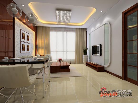 简约 loft 客厅图片来自用户2737735823在8.5万打造130平北京像素loft简约风格17的分享