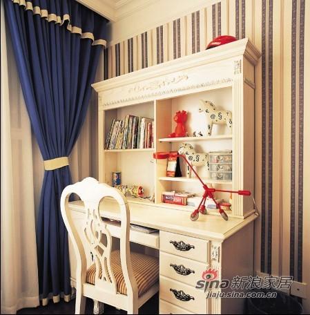 欧式 别墅 书房图片来自用户2772856065在夫妻300平欧式古典奢华家56的分享