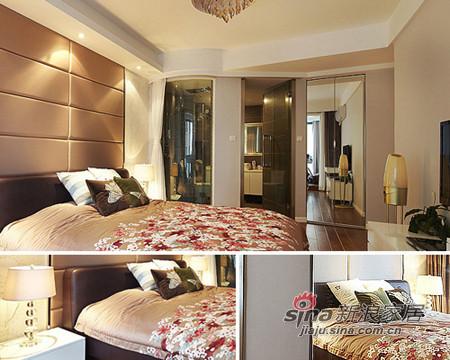 大面积温馨感十足的暖橙,让卧室的气氛热烈