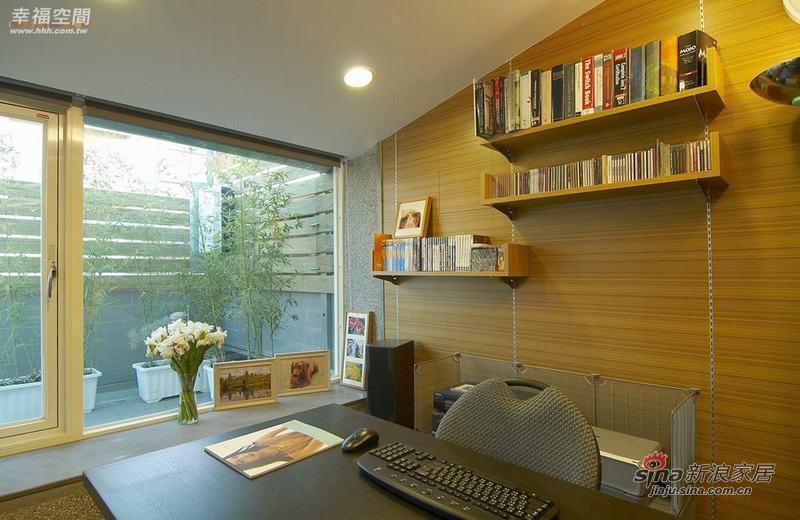 简约 复式 书房图片来自幸福空间在2个人的79P清新自然复式公寓94的分享