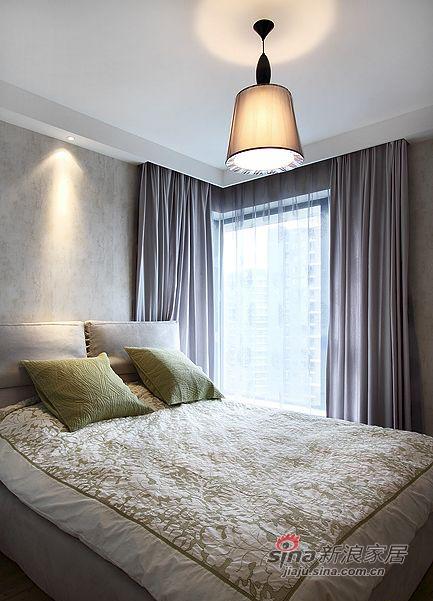 现代 二居 卧室图片来自装修微日记在【高清】11万打造89平自然现代空间51的分享
